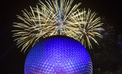 Epcot Forever Night-Time Spectacular